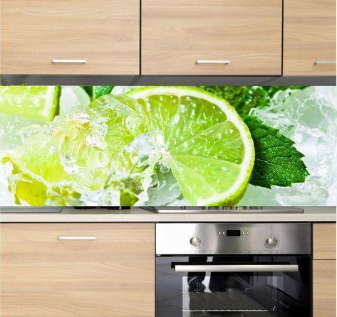 Details zu Spritzschutz Herd Küchenrückwand Fliesenspiegel - spritzschutz küche folie