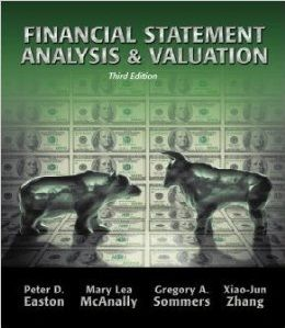 Financial Statement Analysis  Products    Financial