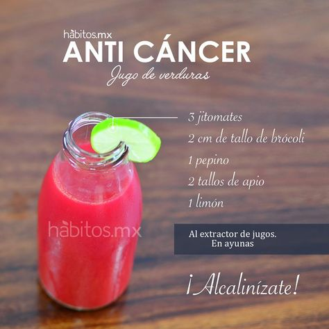 Hábitos Health Coaching | JUGO DE VERDURAS ANTI CÁNCER
