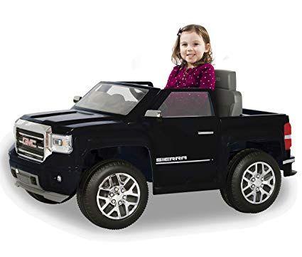 Rollplay 6 Volt Gmc Sierra Truck Ride On Toy Battery Powered Kid S Ride On Car Best Amazon Choose Best Electric Vehi Gmc Trucks Lifted Trucks Gmc Trucks Sierra