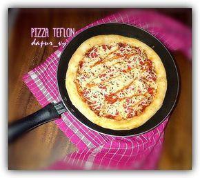 Resep Pizza Teflon Tanpa Telur Margarin Oleh Dapurvy Resep Makanan Makanan Dan Minuman Makanan Ringan Manis