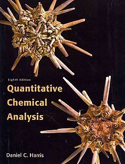 Quantitative Chemical Analysis Chemical Analysis Textbook Analysis