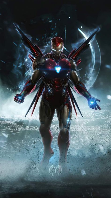 Iron Man Weapon Systems - IPhone Wallpapers