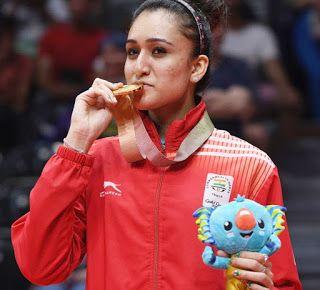 Sports Manika Batra The Rising Star Of Indian Table Ten Indian Table Table Tennis Stars
