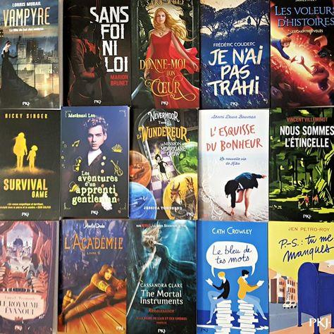Qui a trouvé des livres PKJ au pied du sapin ?  Dites nous tout!  #pocketjeuness…