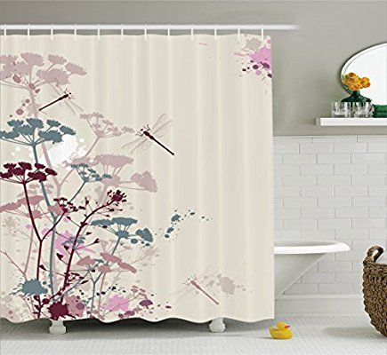 Amazon Com Ambesonne Country Decor Collection Plants And Petals