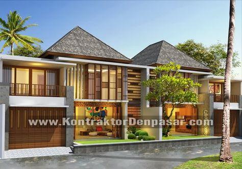 desain rumah 2 lantai luas 180 m2 dengan gaya minimalis
