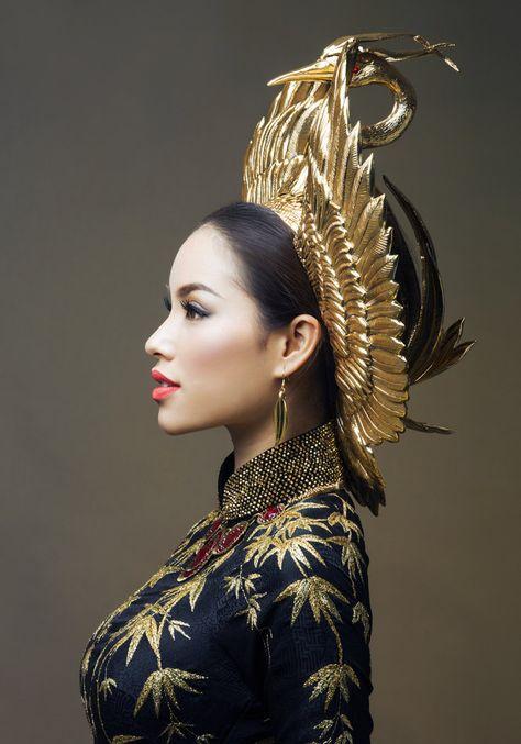 Vietnam's Miss Universe 2015 contestant reveals national costume designs — Vietnam Breaking News