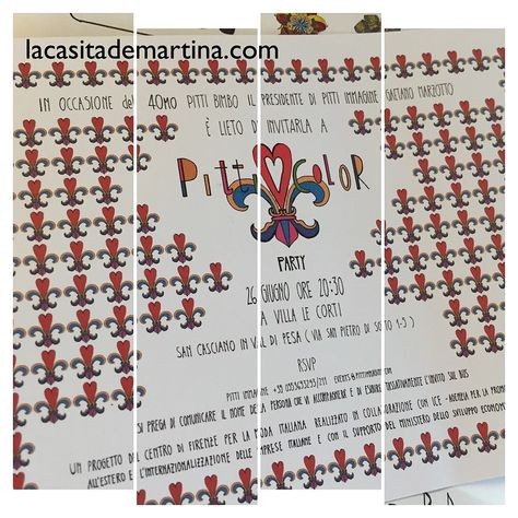 www.lacasitademartina.com #modainfantil #PittiBimbo #kids ♥ PITTI COLOR PARTY la fiesta 40º Aniversario de Pitti Bimbo Florencia ♥ : ♥ La casita de Martina ♥ Blog de Moda Infantil, Moda Bebé, Moda Premamá & Fashion Moms