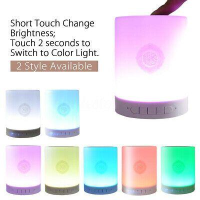 Ebay Ad Url Smart Quran Touch Led Night Light Lamp Speaker Islamic Muslim Player W 8gb Card Night Light Lamp Led Night Light Touch Lamp