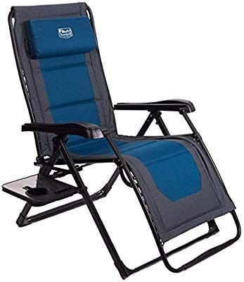 Amazon Com Timber Ridge Zero Gravity Locking Lounge Chair Oversize Xl Adjustable Recliner With Headrest For In 2020 Patio Lounge Chairs Outdoor Recliner Patio Lounge