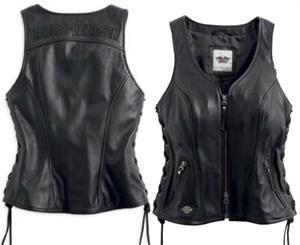 Harley-Davidson® Women's Avenue Leather Vest 98071-14VW