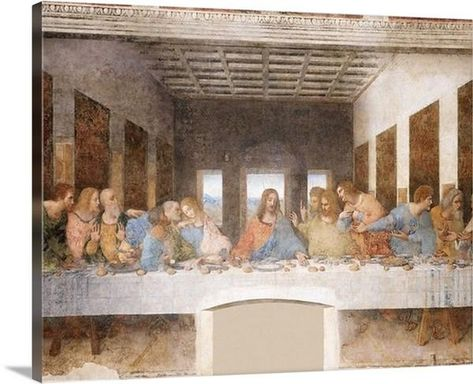 The Last Supper (1495–1498) by Leonardo da Vinci is a unique classic wall art for your home decor. This artwork is constructed on premium poly cotton canvas and put on wood frame to be Hong on your wall once delivered. We offer multiple sizes for you to choice from.