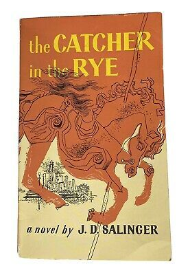 The Catcher In The Rye Novel Jd Salinger Classic Paperback Book Holiday Gift Ebay Catcher In The Rye Jd Salinger Banned Books