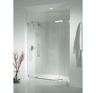 Kohler K 9054 0 White Salient 60 X 30 Single Threshold Shower