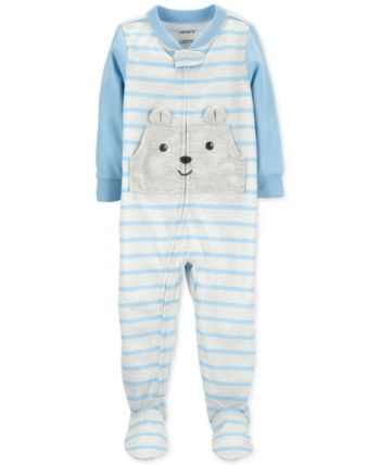 Striped Bears Cotton Pajamas 18 months Details about  /Carter/'s Baby Boys 1-Pc
