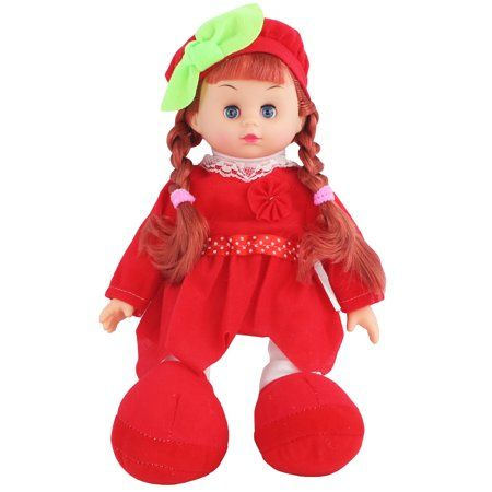 5cc9efbed Battery Operated Pretend Play 13 inch Singing Girl Baby Doll Toy ...