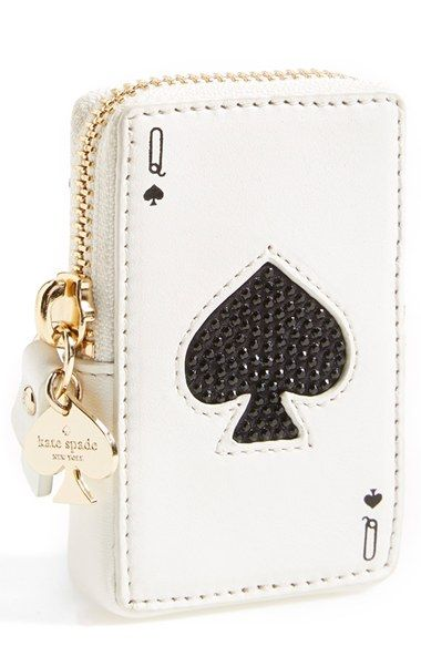 kate spade place your bets rhinestone playing card coin purse #http://www.michaelkorsoutletsale.net/
