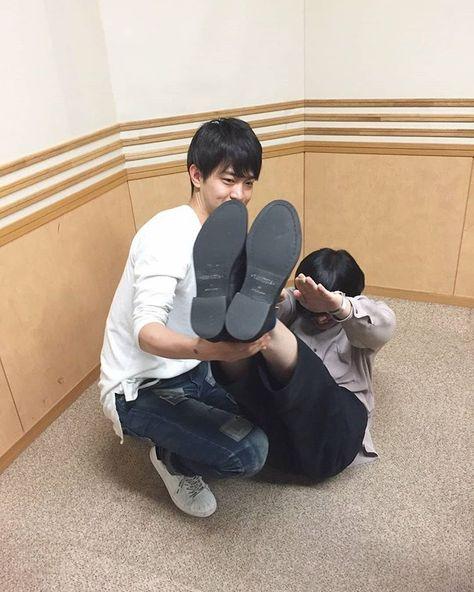 My loveさんはInstagramを利用しています:「壮馬くん...笑 😂 可愛いすぎる Too cute! ー Source: @/dameradi on twitter ー #斎藤壮馬 #石川界人 #saitosoma #somasaito #ishikawakaito #kaitoishikawa #ダメラジ…」
