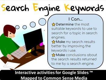 Computer Worksheets Drag Drop Keywords Grades K 3 With Images
