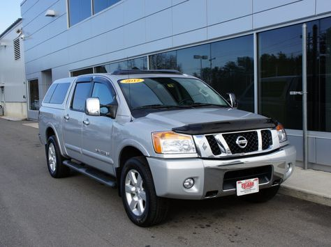 Used 2012 Nissan Titan SL For Sale | Manchester NH. #preowned #used  #forsale #teamnissan #manchester #newhampshire #nh #newengland