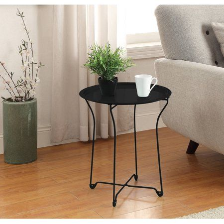 Home With Images Metal Side Table