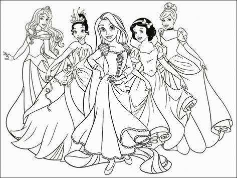 Disegni Da Colorare E Stampare Principesse Disegni Da Stampare