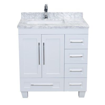 Kempst 31 Single Bathroom Vanity Set 30 Inch Bathroom Vanity