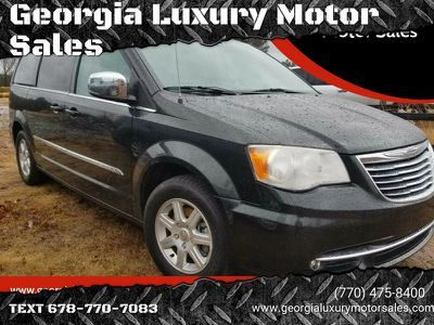 2012 Chrysler Town And Country Touring L 4dr Mini Van Black