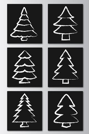 Hand Painted Effect Christmas Tree Png Images Ai Free Download Pikbest Hand Painted Free Graphic Design Painting
