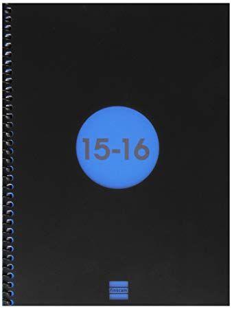 Livre Audio Finocam 633121016 Agenda Scolaire En Spirale E10