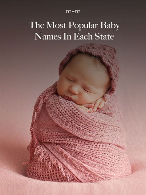 These Were The Most Popular Baby Names In Each State Last Year #babynames