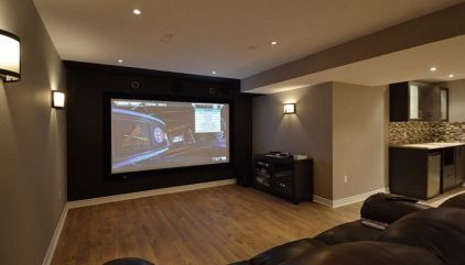 10 Clever Use Of Basement Home Theater Ideas Awesome Picture Shawna Premo Awesome Basement Clever Home Ideas Picture Premo Shawna Theater Di 2020