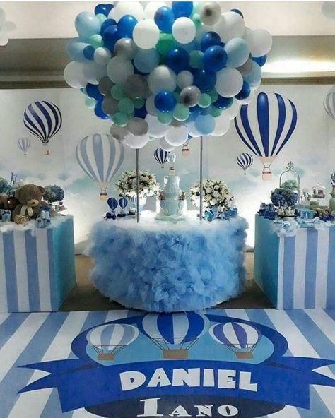 Ideas Baby Shower Nino Ositos.Baby Shower De Osos Para Nino Decoraciones De Globos Para