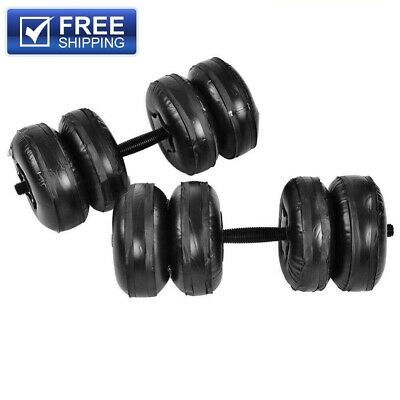 15 20kg Or 20 25kg Water Filled Adjustable Weight For Home Training Non Impact In 2020 Barbell Weights Arm Muscles Adjustable Dumbbells