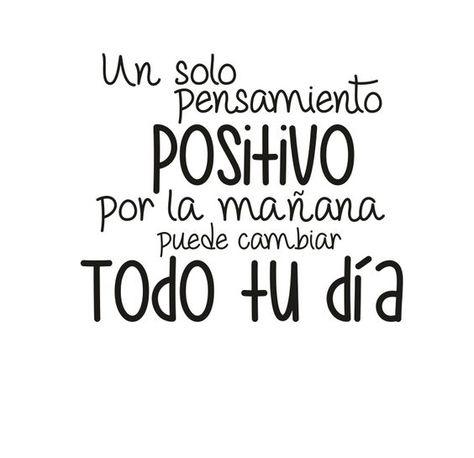 #FelizDía #Positividad