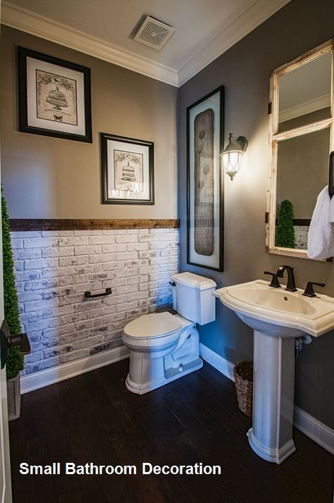15 Decor And Design Ideas For Small Bathrooms 1 In 2020 Small Bathroom Remodel Small Bathroom Decor Bathrooms Remodel