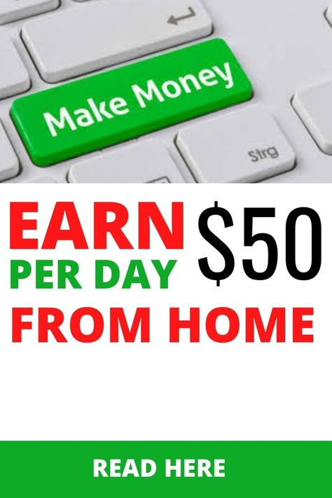 Earn Money From Home | 50 Per Day