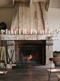 My Husband Made Dream Fireplace Come True Diy Fireplaces Mantels Home Improvement Living Room Ideas