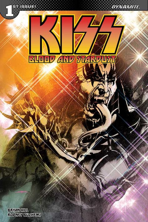 Dynamite Signs Bryan Hill To Launch New Kiss Ongoing Series Kiss