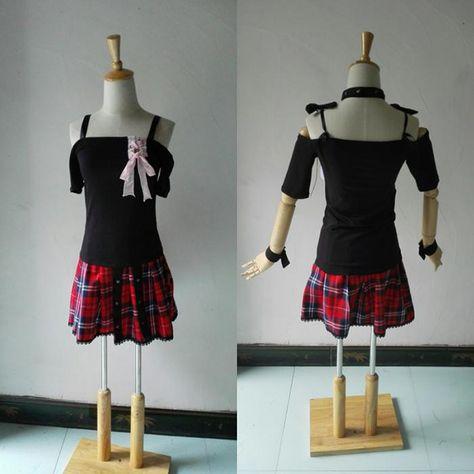 Assassination Classroom Shiota Nagisa Genderbend Cross-dress Cosplay Costume