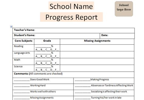 Download Daily Progress Report School Template Excel Project - project closure template