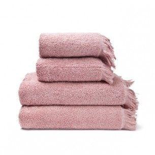 4 Teiliges Handtuch Set Rosa Handtucher Set Badezimmer Accessoires Und Handtucher