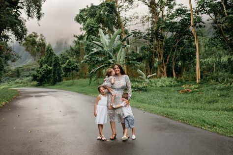 P Family Session at Hoomaluhia Botanical Gardens, Honolulu | Hawaii Vacation Photographer