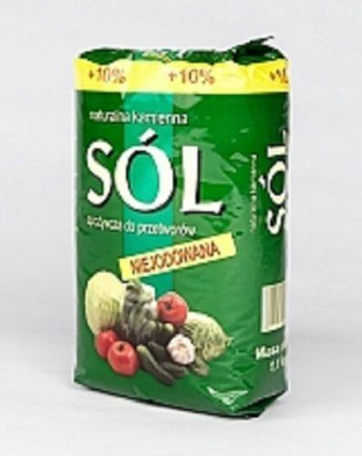 Sól Klodawska Salt 100% Pure Natural Rock Minerals and