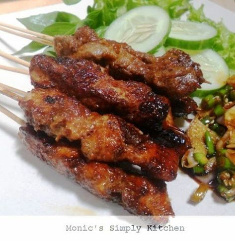 Sate Maranggi Daging Sapi Resep Ayam Masakan Korea Resep Masakan