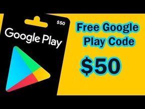 Free Google Play Gift Card 2020 Easy 50 Google Play Gift Card Voucher Working In 2020 Google Play Gift Card Google Play Codes Amazon Gift Card Free