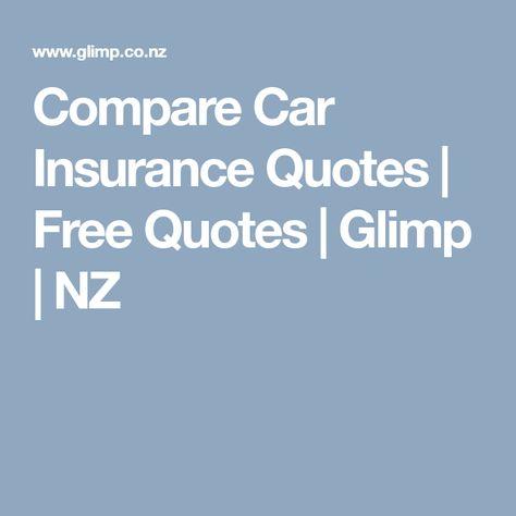 Compare Car Insurance Quotes Free Quotes Glimp Nz Compare