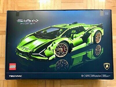 Lego 42115 Technic Lamborghini Sian Fkp 37 Brand New Sealed In 2021 Lego Technic Sets Lamborghini Lego Technic