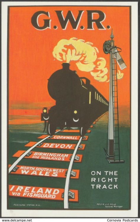 1930 Southern Pacific Railroad Sunset Route Vintage Style Travel Poster 24x36